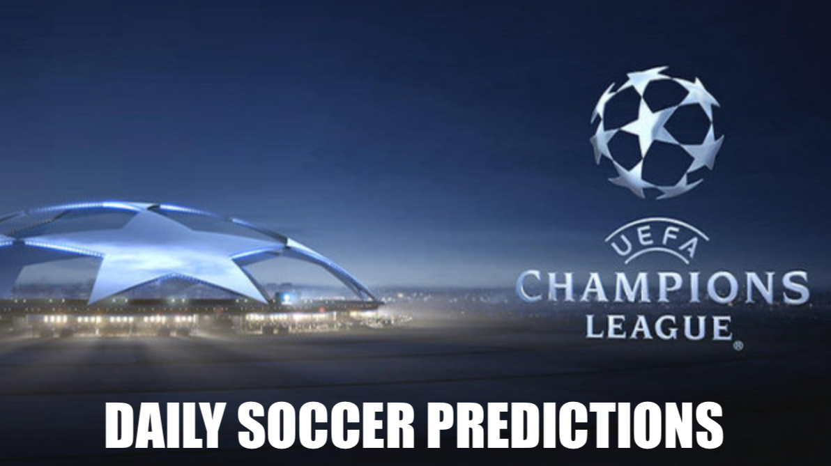 Daily soccer predictions