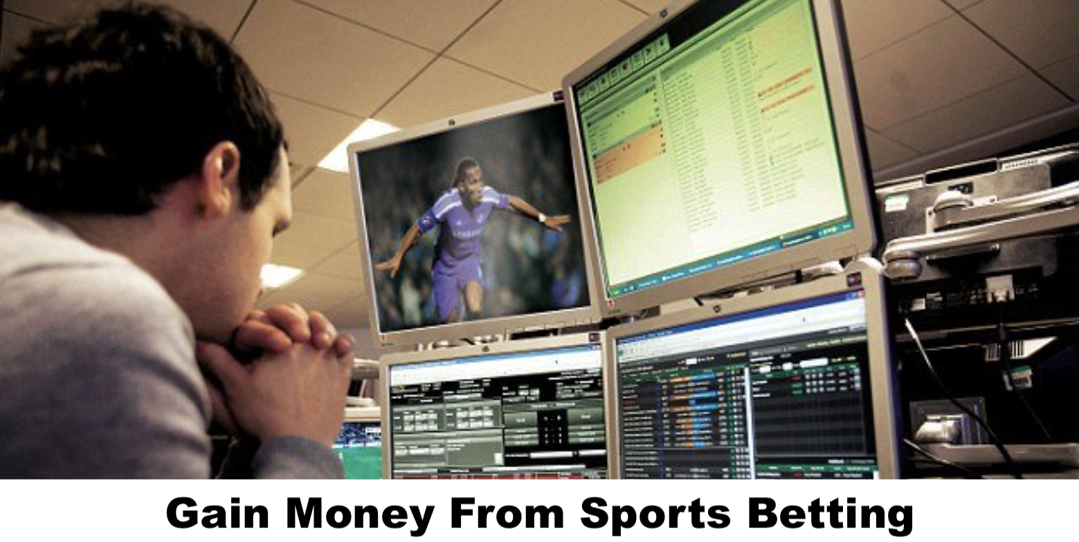 Gain money from sports betting